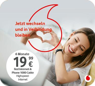 Vodafone – Festnetz Wechselangebot