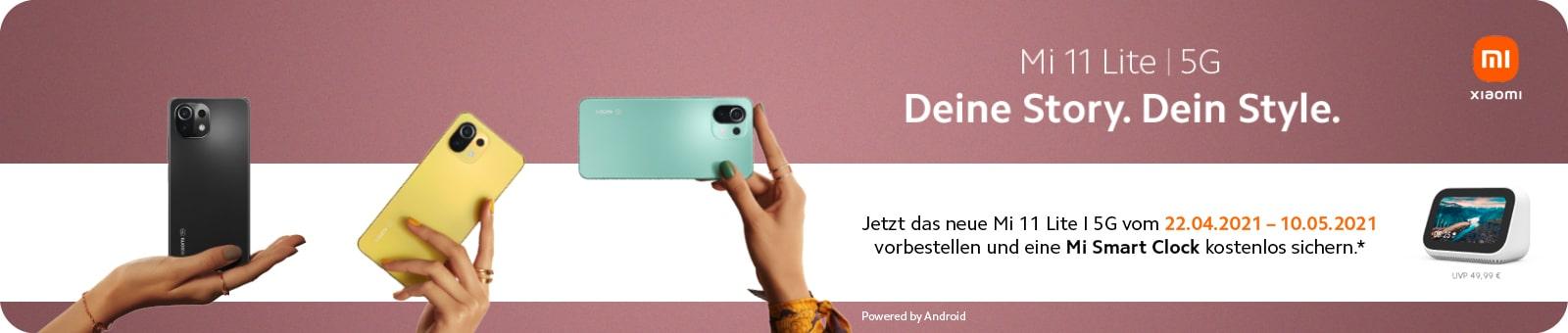 Xiaomi Mi 11 Lite 5G pre-order