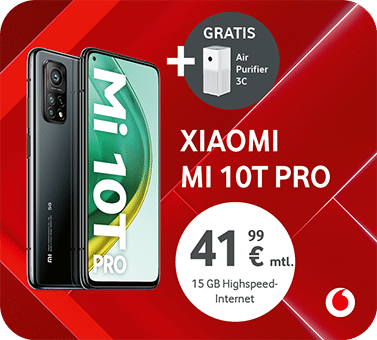Vodafone – Xiaomi Mi 10T pro air purifier