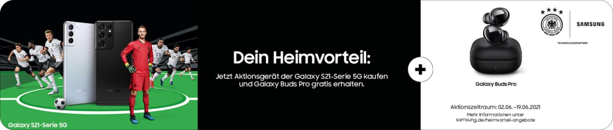 Samsung EM Kampagne – S21