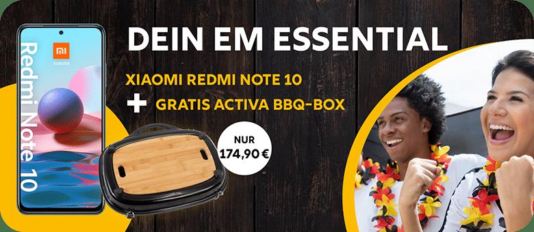 Xiaomi Redmi Note 10 + Activa Grill Box