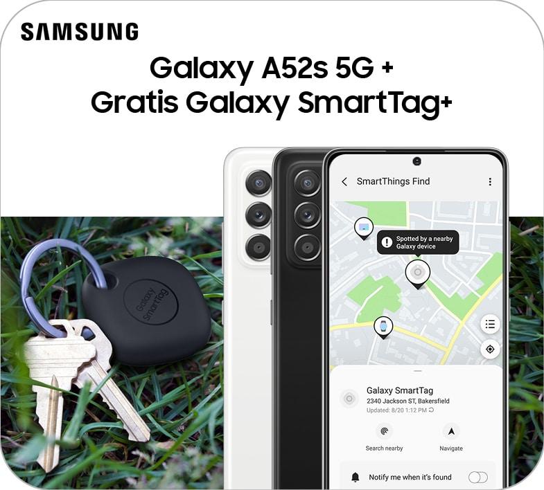 A52s + SmartTag+